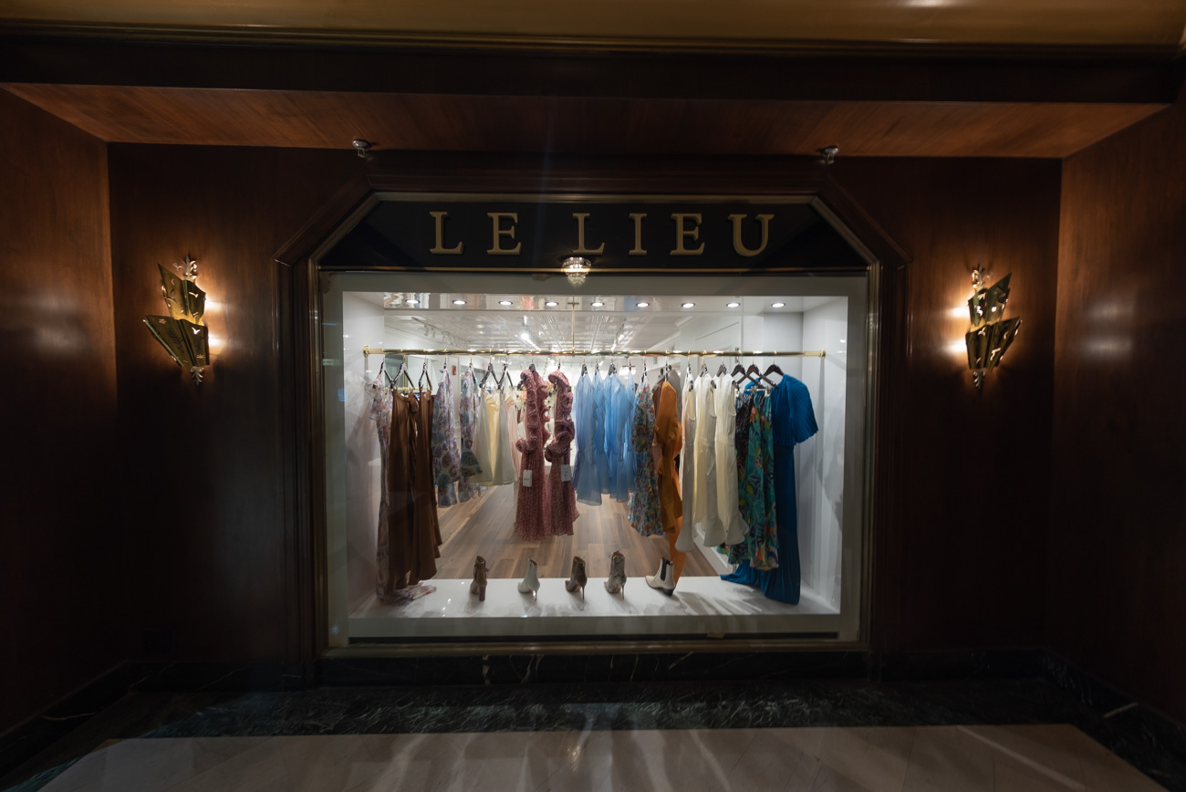 LE LIEU is a shop located inside the historic Carew Tower downtown that features upscale women's clothing and accessories from the world's top fashion brands. As part of the Hellman Retail Group, the boutique combines the talents of Chuck Hellman & Melissa Ohntrup, both native Cincinnatians with over 30 years of collective experience in the fashion industry. ADDRESS: 441 Vine Street, Suite 1J (45202) / Image: Mike Menke / Art director: Lacey Keith // Published: 7.12.20