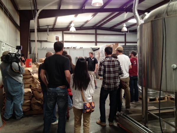 Roughtail Brewing Company held the first in the Metro since state laws changed.