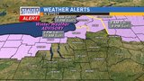 New alert for potential freezing rain and ice accumulation this weekend