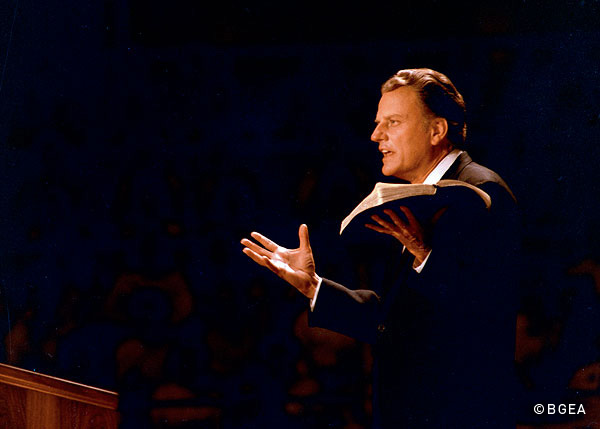 FILE - Billy Graham. (Photo credit: Billy Graham Evangelistic Assoc.)