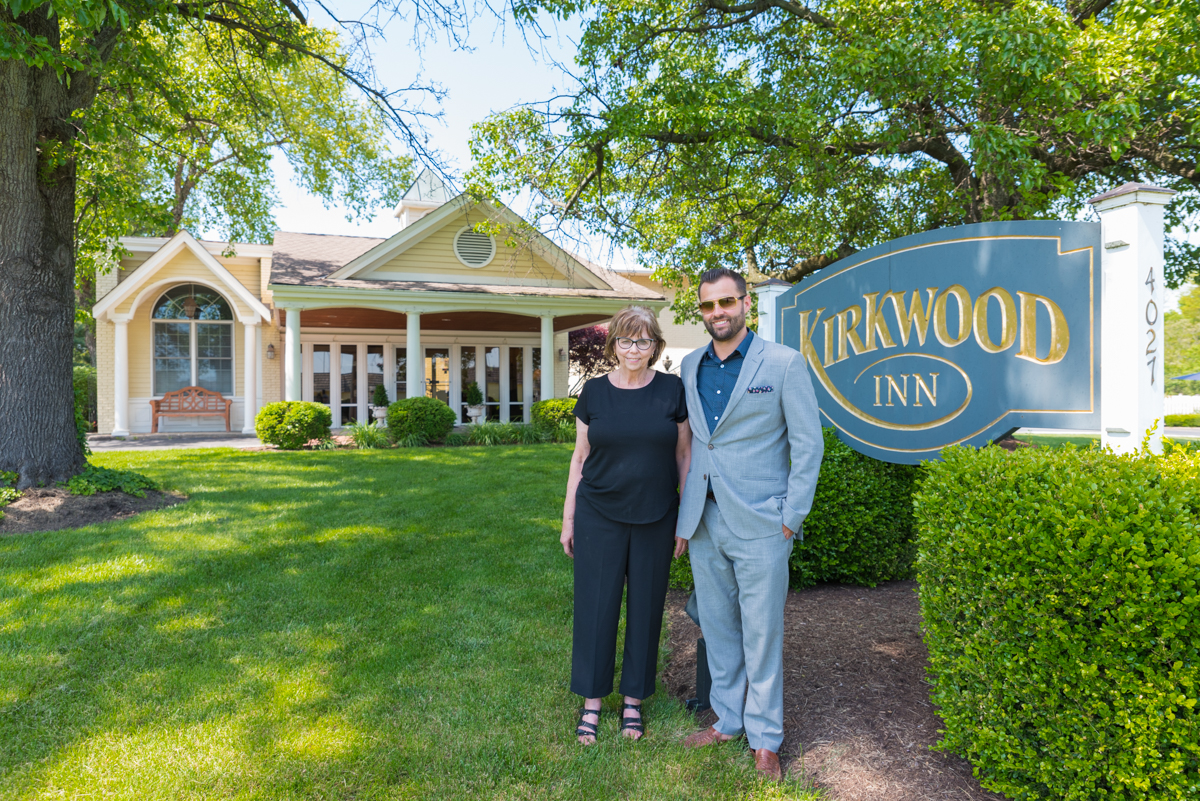 A mother & son team own Kirkwood Inn. They are Sandy and David Eves. / Image: Sherry Lachelle Photography // Published: 5.24.17