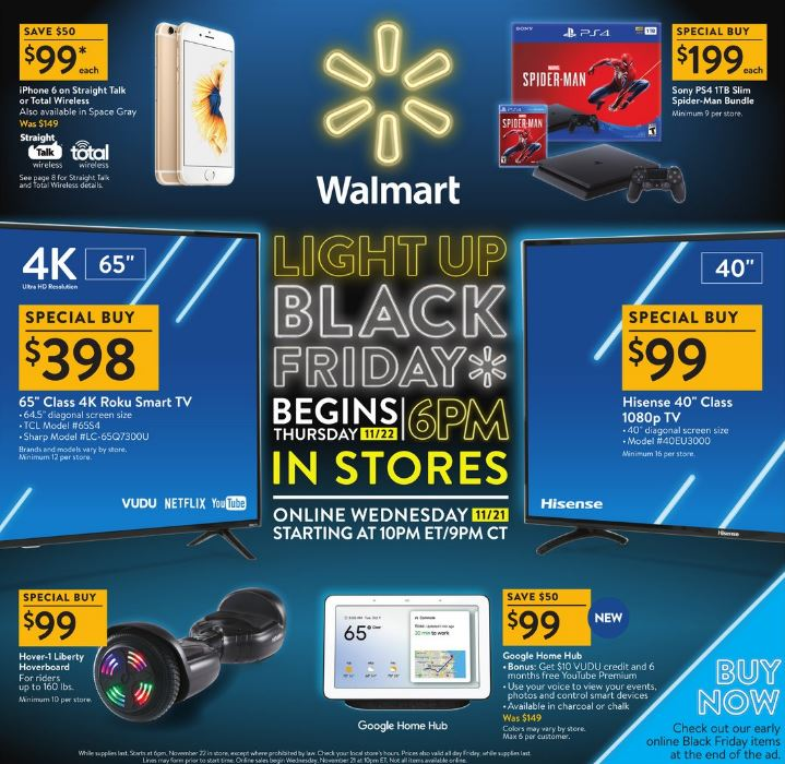 Thanksgiving and Black Friday are just two weeks away but Walmart, Target, Best Buy and other retail stores have released their much anticipated sales ad for Black Friday. (Walmart){&nbsp;}<p></p>