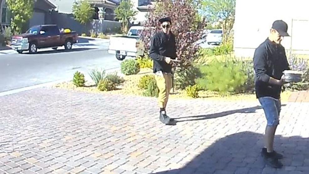 Suspects wanted in string of Summerlin burglaries near Alta, Desert Foothills