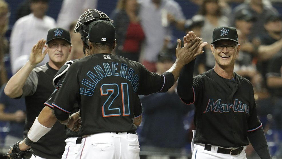 Marlins end 4-game skid, top Nats 3-2 but fire hitting coach