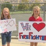 Springville salutes firefighters battling the Pier Fire