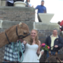 "Camel surprises bride at ""hump day"" wedding"