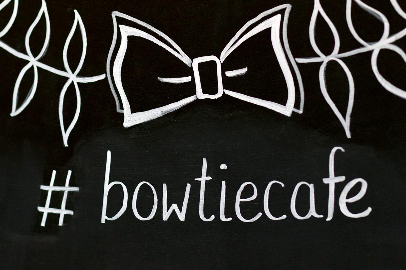 "<p>Former Bengals linebacker Dhani Jones co-founded the cafe in 2010. The name was inspired by his friend Kunta Littlejohn's life motto of ""if you wanna be somebody, you gotta rock a bow tie."" After Kunta was diagnosed with Non-Hodgkins Lymphoma, Jones also started a nonprofit called the Bow Tie Cause to support charities dedicated to researching the disease and helping people affected by it. ADDRESS: 1101 St. Gregory Street (45202) / Image: Allison McAdams // Published: 2.9.19<br></p>"