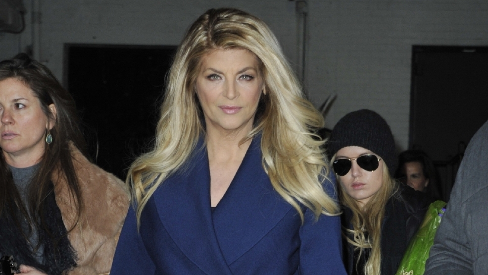 Kirstie Alley is a first-time grandmother