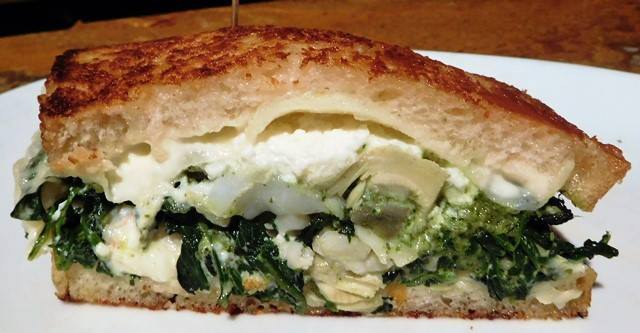 Atlantic Lobster, Artichoke hearts and Ricotta Grilled Cheese.                      John Howie Steak, located in downtown Bellevue, brings major sandwich game. Every day the steakhouse features a unique and new sandwich called they call #SandwichOfTheDay. Enjoy the gallery! These are just a few of the daily sandwiches that look absolutely mind-blowing. To see the current Sandwich of the Day, check out John Howie Steak's Facebook page. (Image courtesy of John Howie Steak)