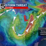 Risk of severe storms on Saturday continues to climb