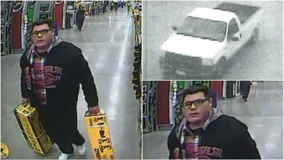 Caught On Camera Man Accused Of Stealing From Home Depot