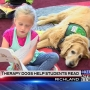 Therapy dogs are a bookworm's best friend at Jason Lee Elementary