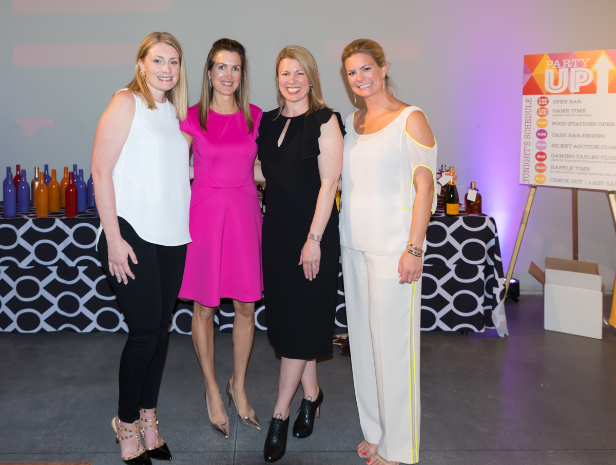 Aimee Wulfeck, Allison Kahn, Stephanie DalleMolle, and Jessica Cicchinelli (President of Kindervelt 50)  / Image: Sherry Lachelle Photography // Published: 4.28.18<p></p>