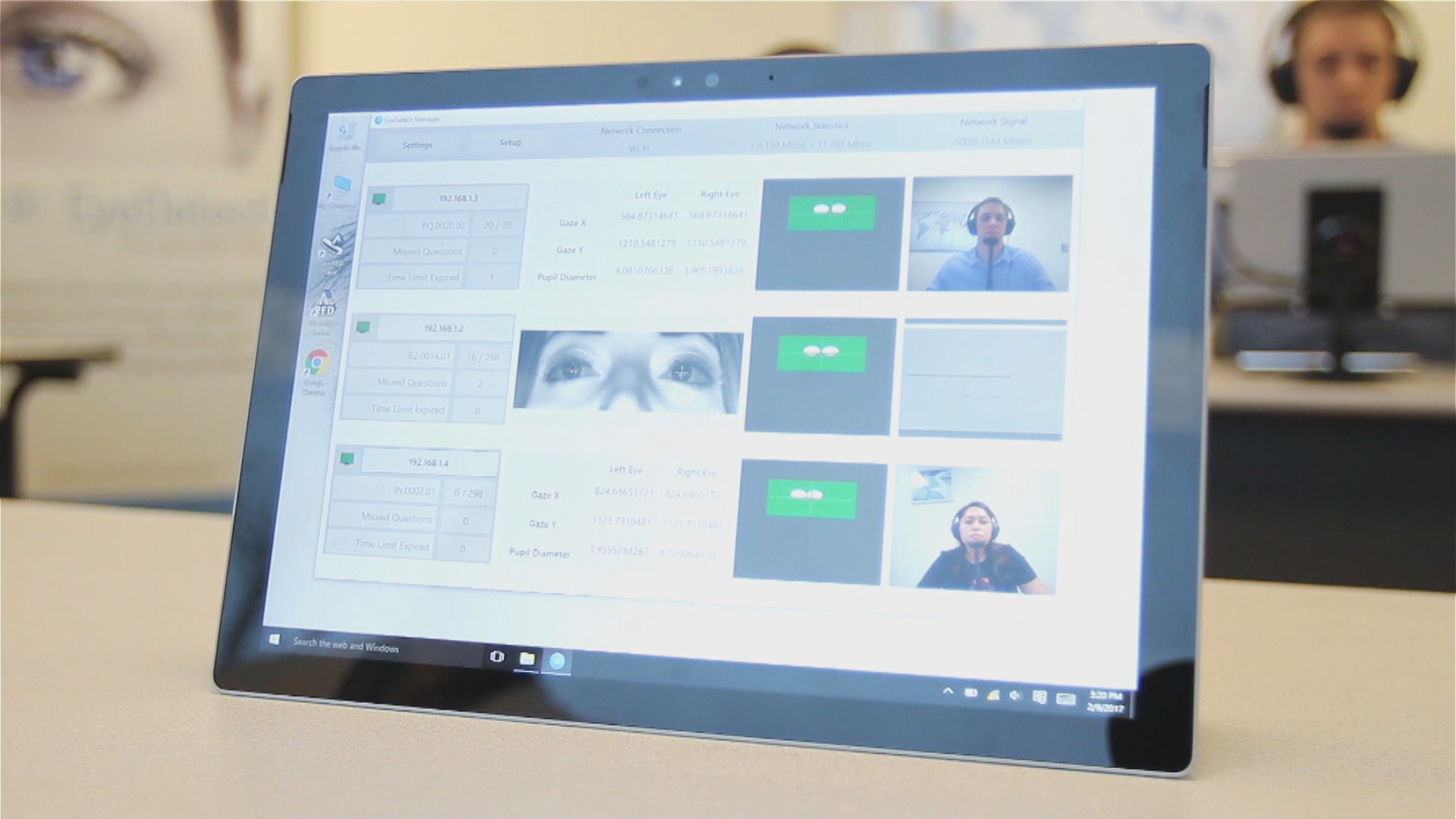 "Can you hide your lying eyes? New technology claims it can ""see"" the truth. (KSNV)"