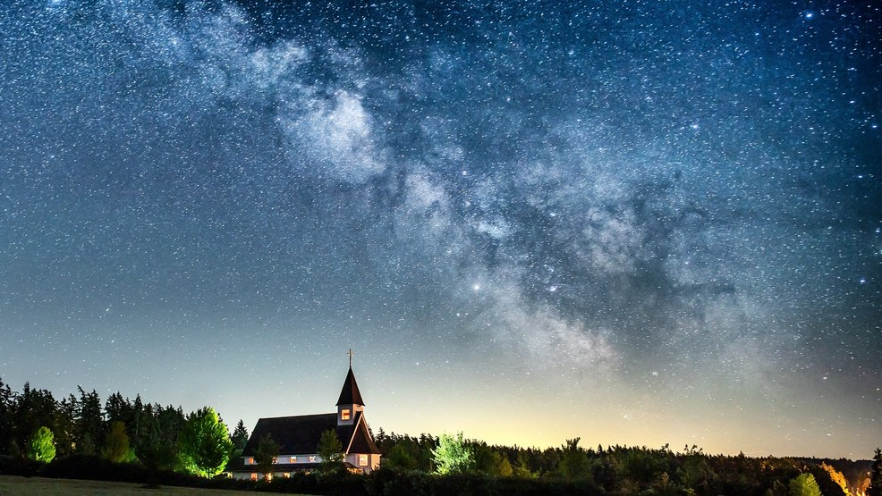 Out of this world photos: Milky Way Galaxy shines in nighttime skies over Northwest