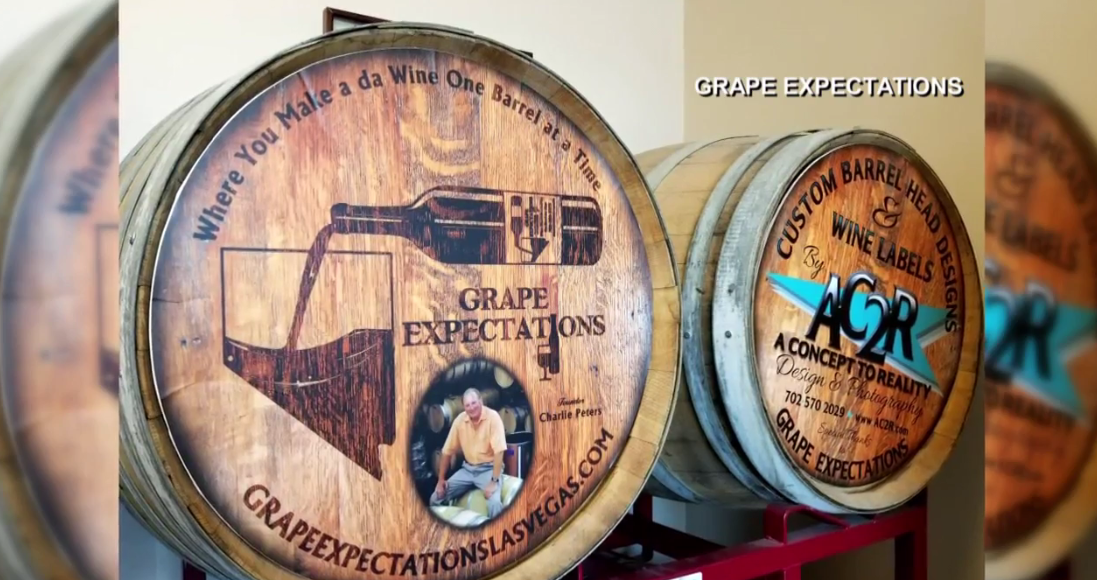 Grape Expectations Nevada School of Winemaking teaches you how to make your own wine! (Grape Expectations / KSNV)