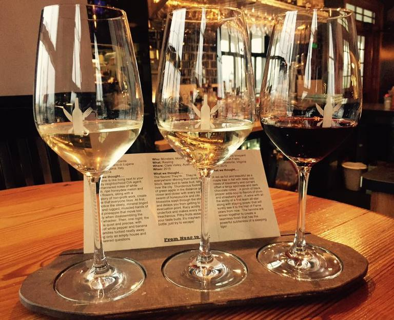 After drinks, make your way over to The Wine Kitchen for a relaxed dinner. You can choose from one of many wine flights before settling into a bottle. (Image: Courtesy The Wine Kitchen){&amp;nbsp;}<p></p>