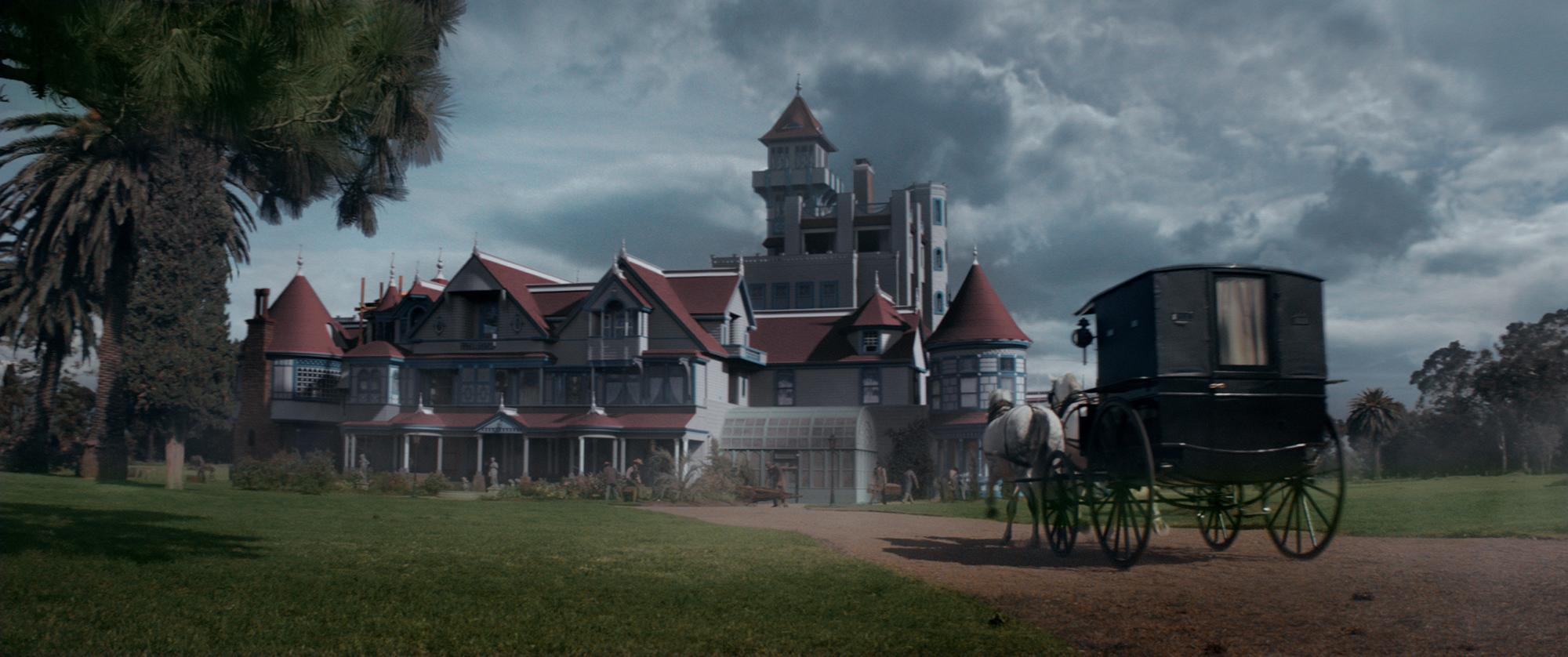 <p>The Winchester mansion in a scene from WINCHESTER to be released by CBS Films and Lionsgate. (Photo: CBS Films)</p>