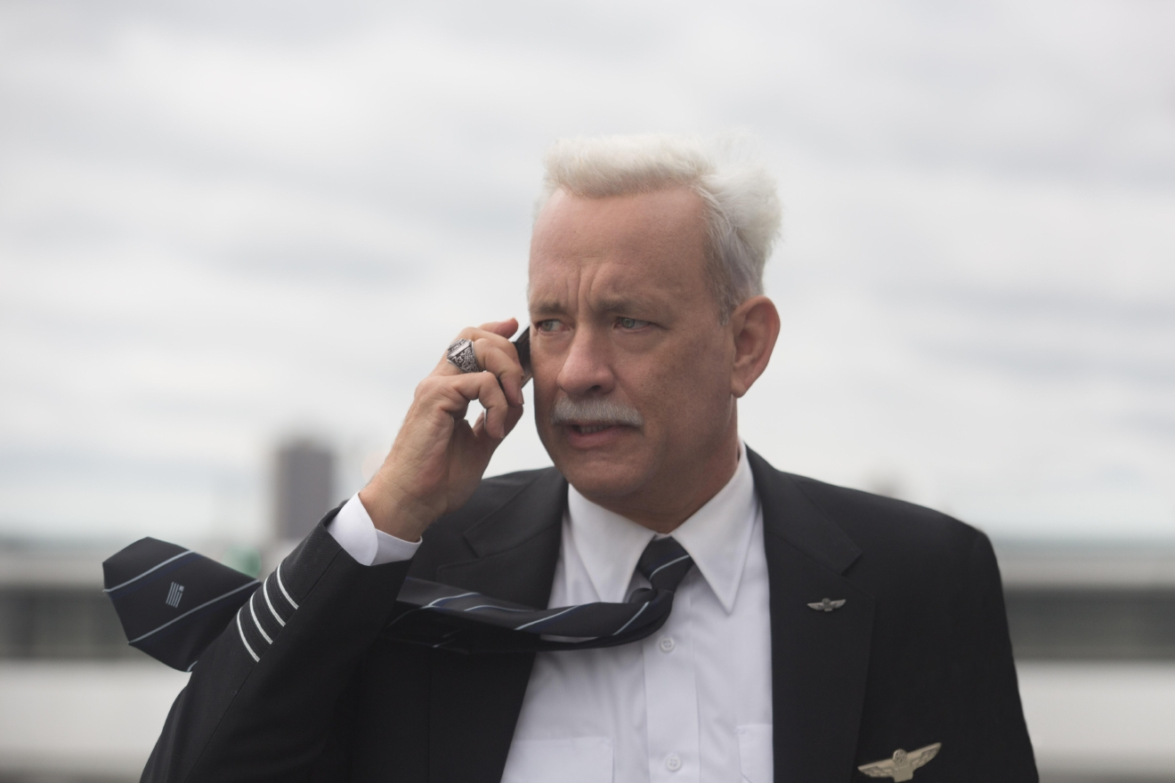 "Tom Hanks stars in ""Sully."" Photo courtesy of Warner Bros. Pictures."