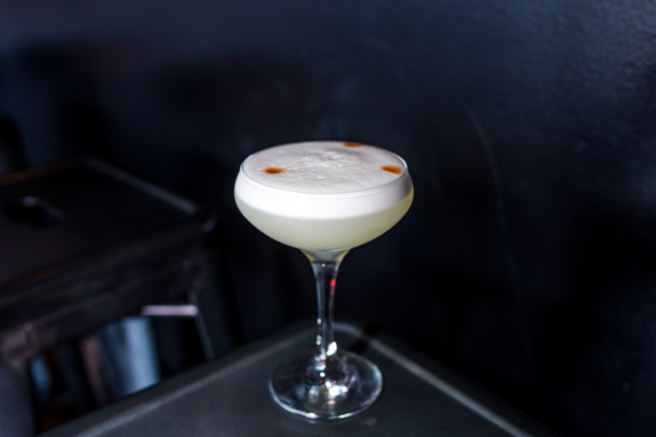 Pisco Sour: Pisco, egg white, fresh lime, simple syrup, and bitters / Image: Catherine Viox{ }// Published: 6.12.19
