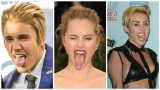 Gallery: Celebrity tongues caught-on-camera