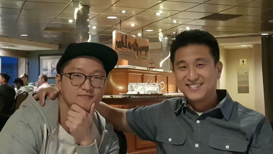 Matthew Choi (left) with his brother Peter. (Contributed Photo)