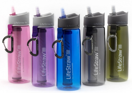 Drinking clean water has never been easier. LifeStraw Go 2-stage filtration water bottles are equipped with a real-time filtration system, which cleans bacteria and contaminants out of the water as you sip. The explorer on your list can even drink river water using the bottle — all without worry.  Through the company's Follow the Liters program, every LifeStraw product sold provides a child in a developing country with access to clean, safe drinking water for an entire school year.  Price: $49.95.  (Image: Lifestraw)