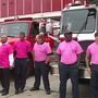Flint firefighters honor breast cancer survivors by wearing pink