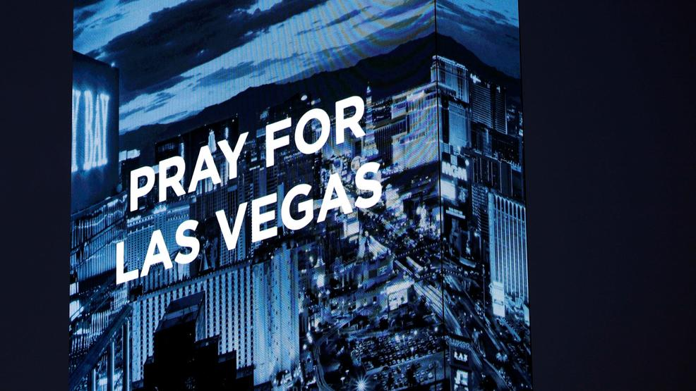 Las Vegas pray message on W Hotel AP80.jpg
