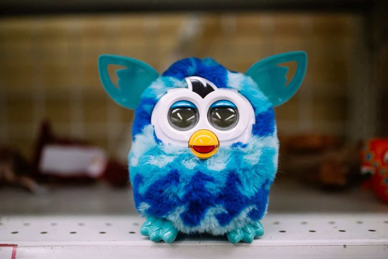 Furby. $3.99                       Are you going to a White Elephant Gift Exchange this year? We headed to our local Value Village to give you some gift ideas and how much they cost. (Image: Joshua Lewis / Seattle Refined)