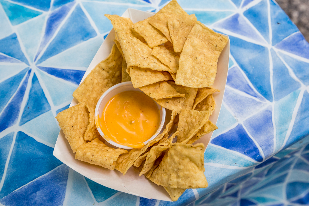 Tortilla chips and queso / Image: Catherine Viox{ }// Published: 7.24.19