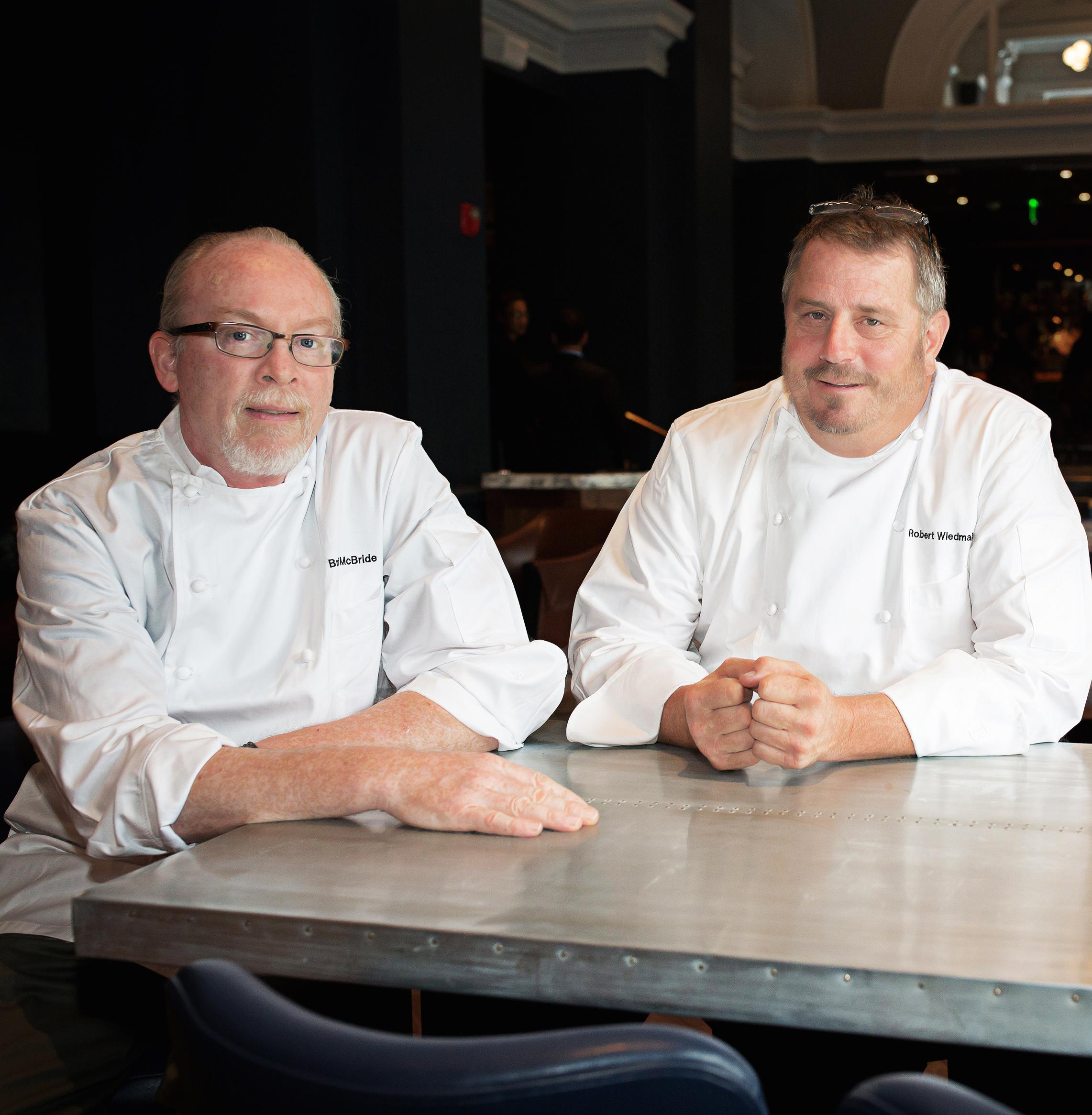 Chefs Robert Wiedmaier and Brian McBride of Siren by RW (Image: Scott Suchman)