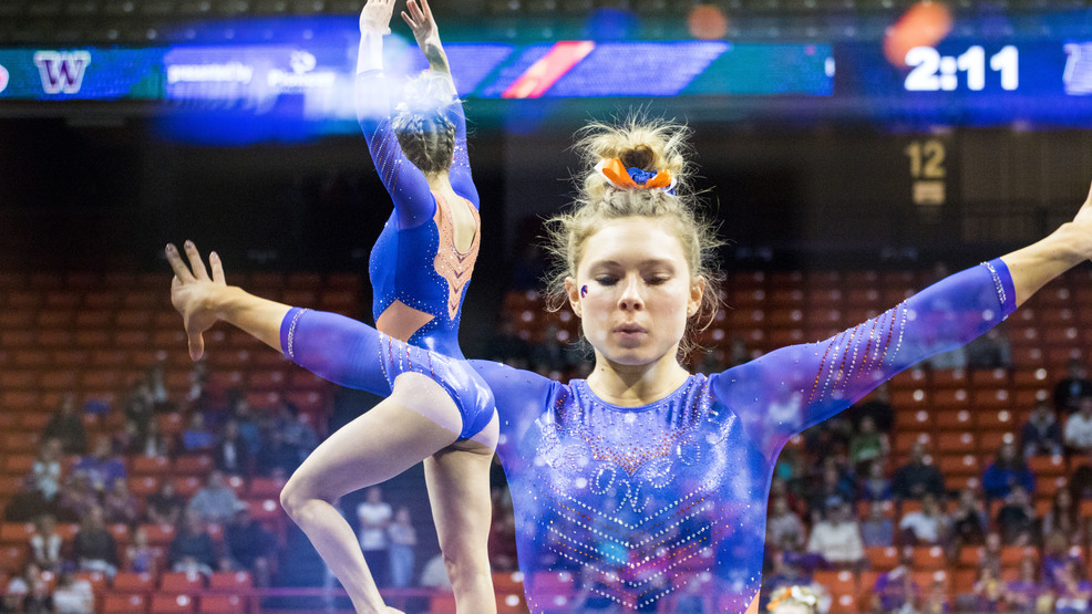 Boise State Gymnastics takes another big win against Utah State and Washington