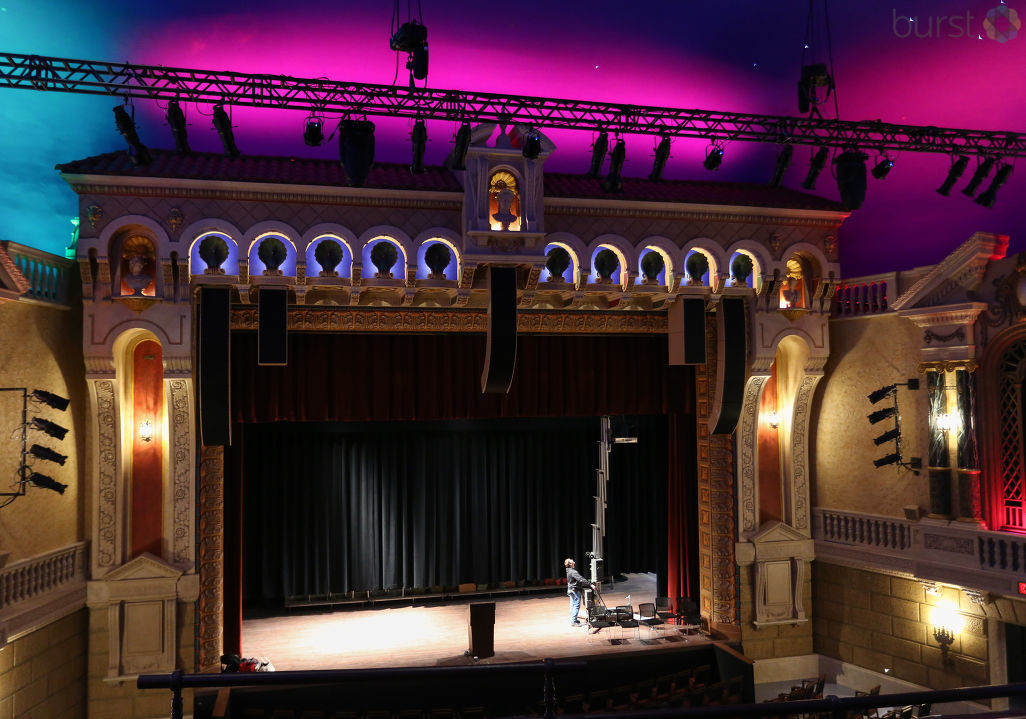 Take a look inside! The renovated Capitol Theatre was unveiled Thursday, Dec. 7 with a ribbon cutting. (Photo by Shawn Coleman WEYI/WSMH)