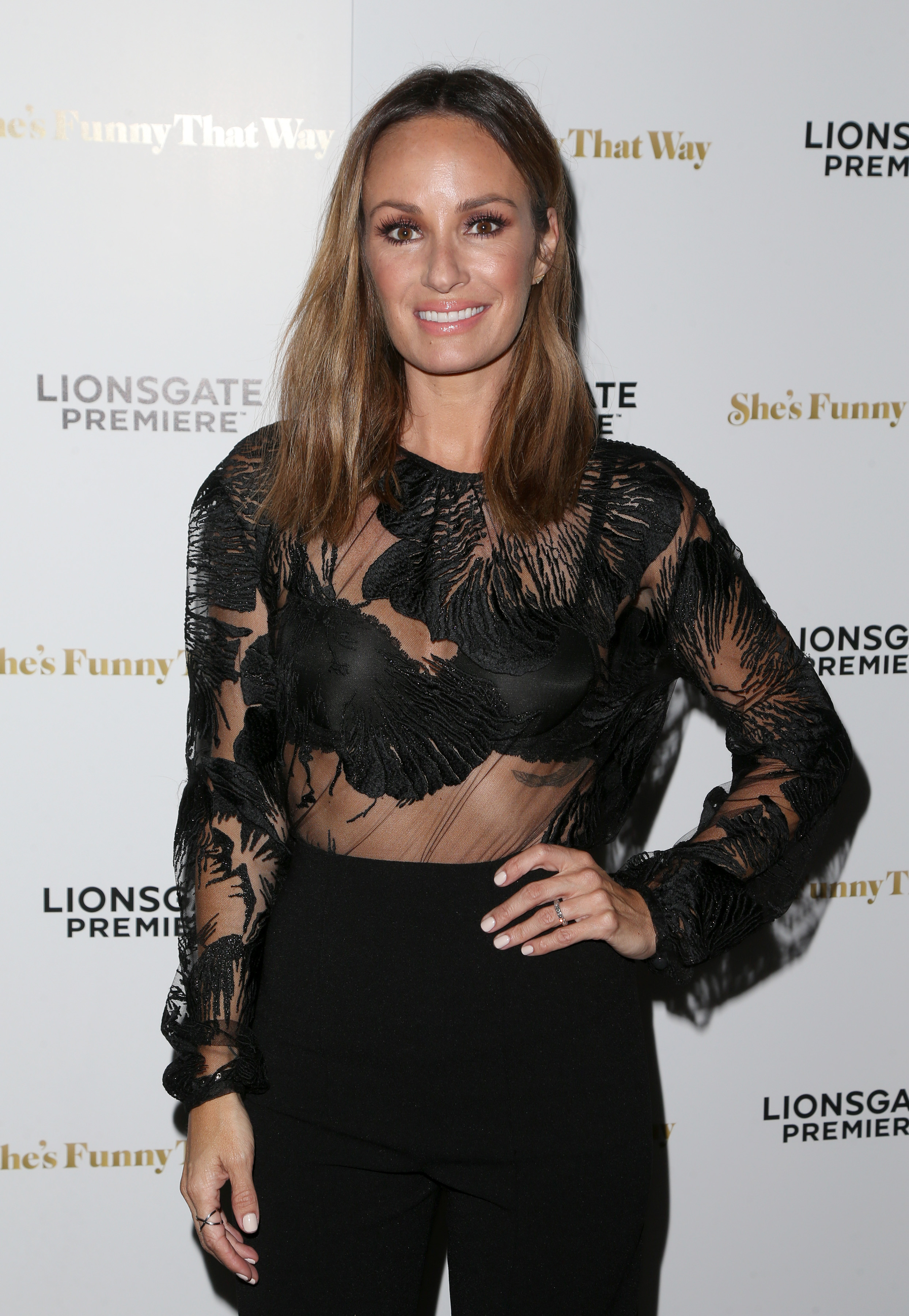 Los Angeles premiere 'She's Funny That Way' at Harmony Gold - Arrivals                                    Featuring: Catt Sadler                  Where: Los Angeles, California, United States                  When: 19 Aug 2015                  Credit: FayesVision/WENN.com