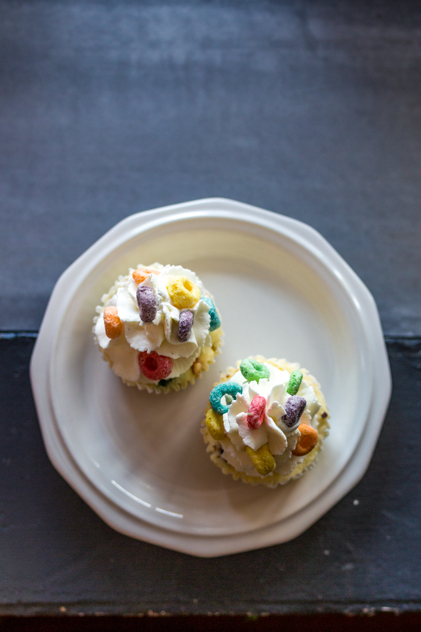 Fruit Loop cheesecake cupcake / Image: Catherine Viox // Published: 8.1.19