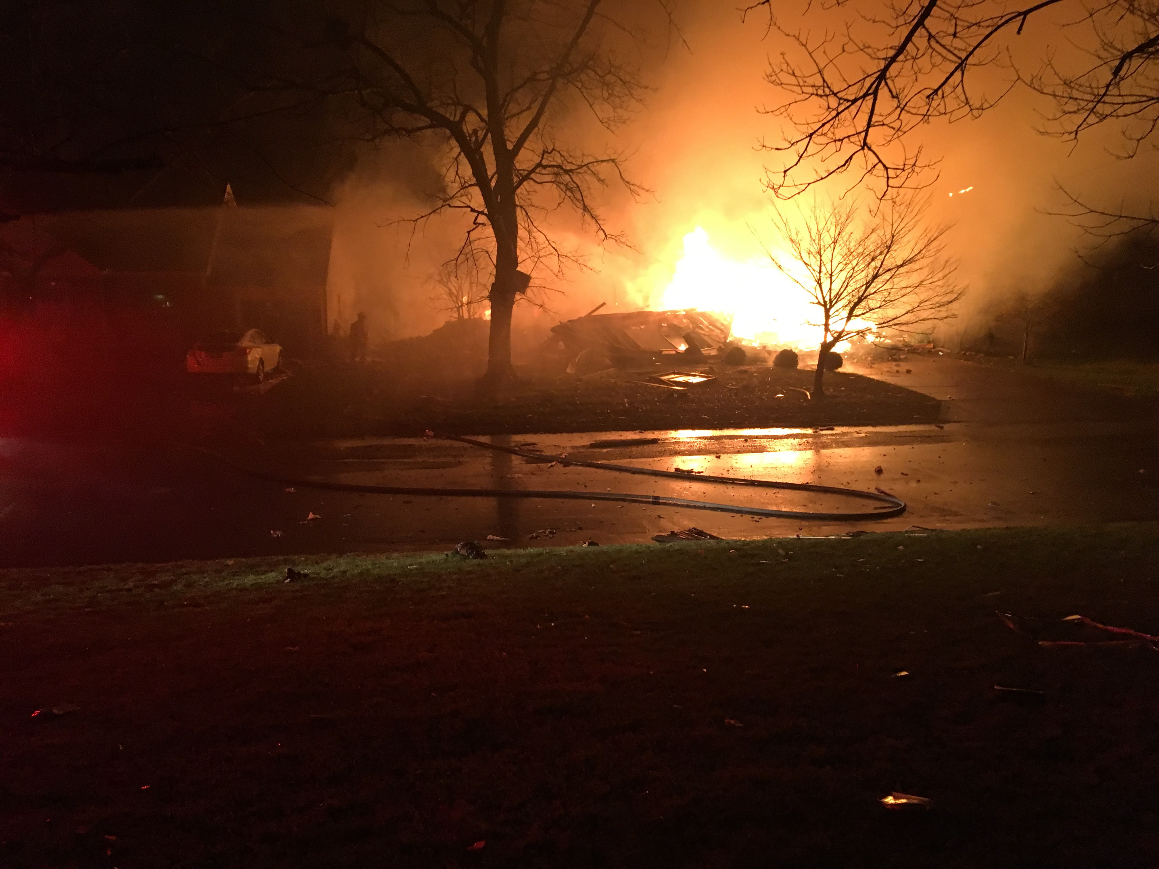 Person killed after reported house explosion in Kettering, coroner says (WKEF/WRGT)