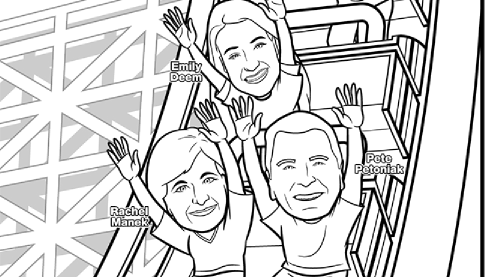 Good Day Wisconsin Coloring Page