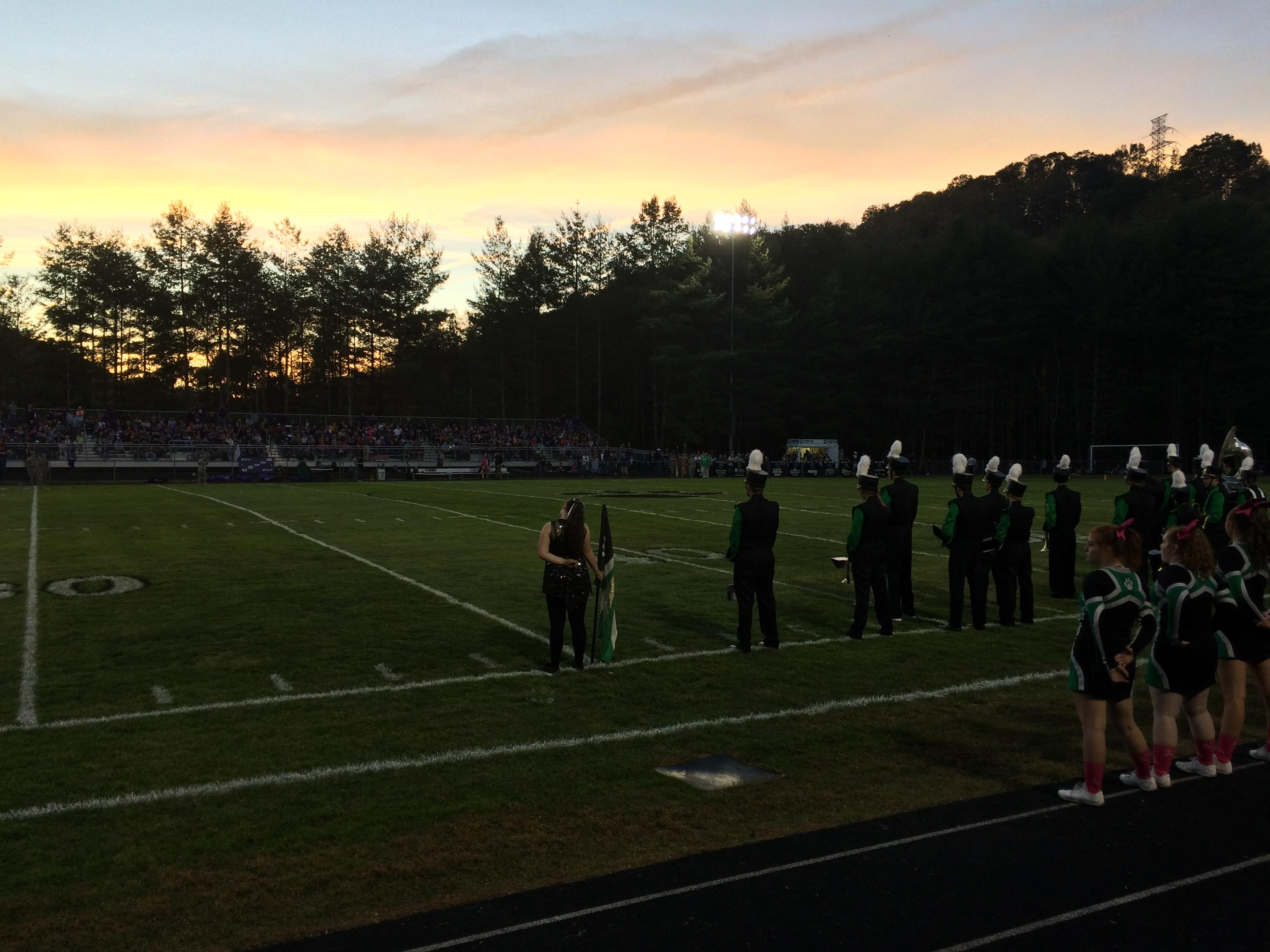 Mitchell vs Mountain Heritage, 10-06-2017 (Photo credit: WLOS Staff)