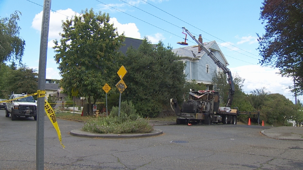 Crane Strikes Power Line, Creates Widespread Outage In Seattle