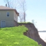 Sodus Point home in danger of falling into Lake Ontario