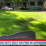 Person dies in hospital after setting self on fire near Multnomah County Courthouse