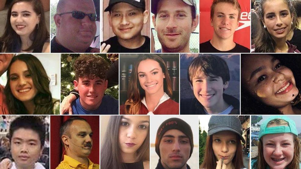 victims of the marjory stoneman douglas high school shooting wpec
