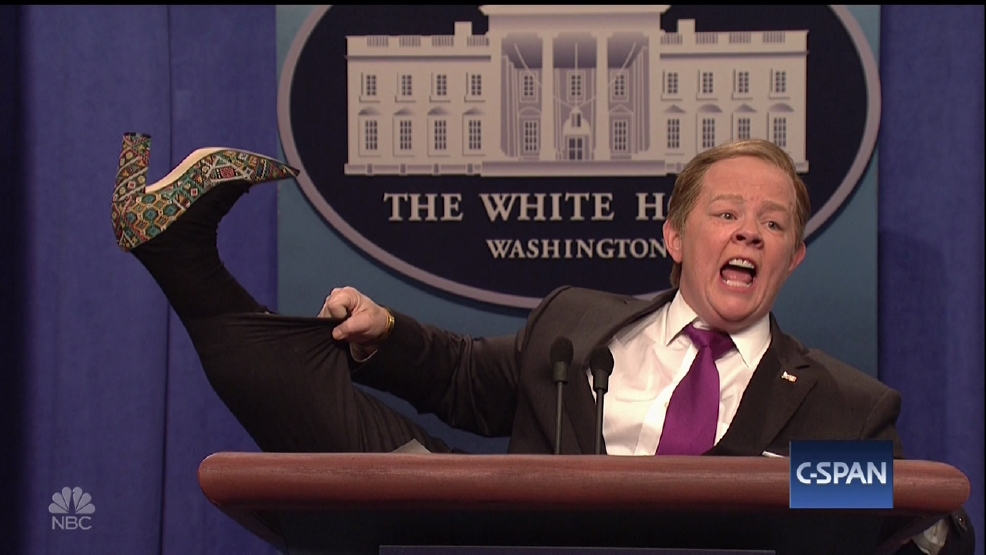 Melissa McCarthy's daughters not impressed by their mom's Sean Spicer impersonation