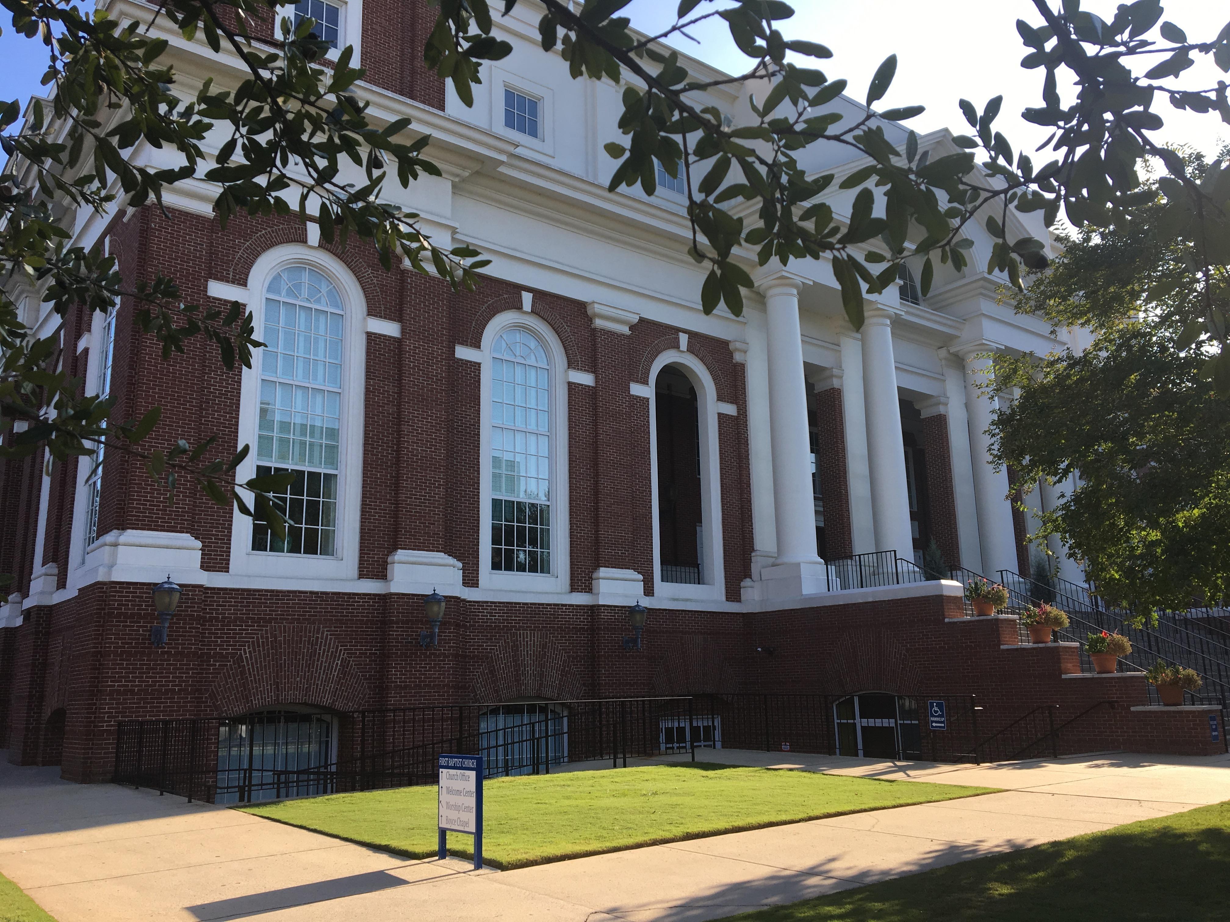 First Baptist Church of Columbia (Source: Sharonne Hayes, WACH Fox)