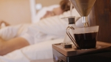 The alarm clock that wakes you with a fresh cup of coffee