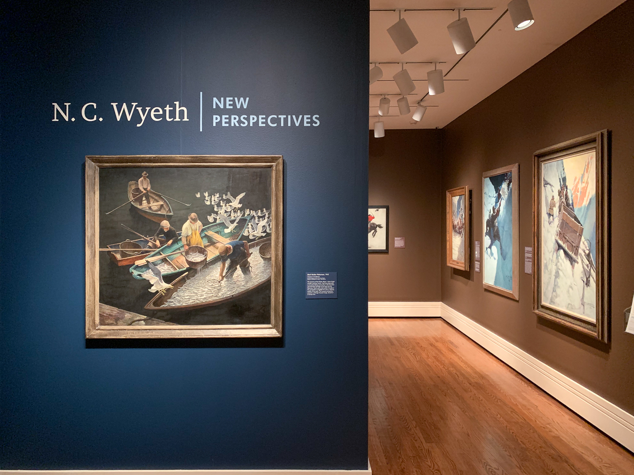 From February 8 to May 3, 2020, N.C. Wyeth: New Perspectives will be on display at the Taft Museum in their Fifth Third Gallery. Wyeth (1882-1945), a renowned painter and illustrator, is known for his work on Treasure Island, The Last of the Mohicans, and several other popular works during his lifetime. Balanced on a tightrope between being a commercial illustrator and a fine artist, Wyeth's pieces at the Taft highlight his versatility throughout his lifetime, which is loosely organized chronologically. / Image: Phil Armstrong, Cincinnati Refined // Published: 2.9.20