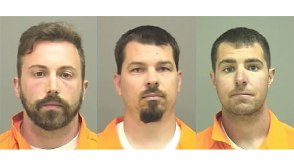 From left to right: Tyler Reed, Thomas Fagan, and David Radandt (Manitowoc County Sheriff's Office)