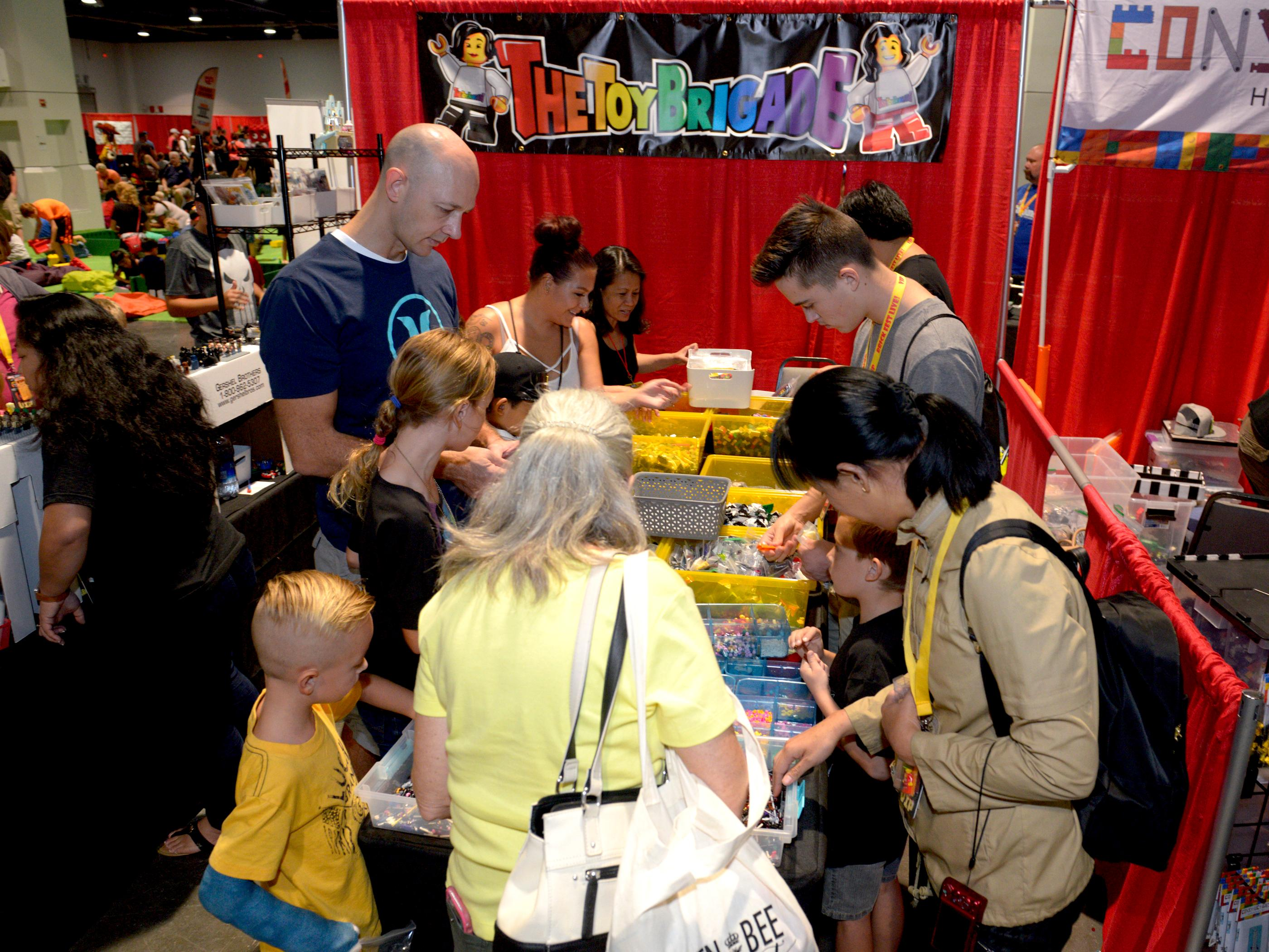 The Brick Fest Live Lego Fan Experience at the Las Vegas Convention Center, September 9, 2017. [Glenn Pinkerton/Las Vegas News Bureau]