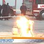 Video: Nashville firefighters demonstrate how NOT to deep fry a turkey